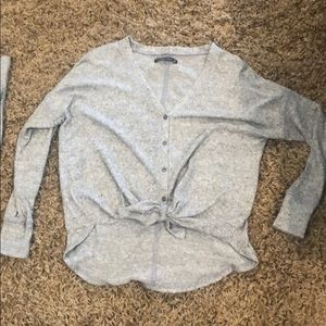 Abercrombie top button down